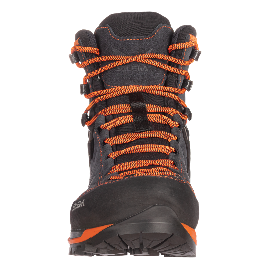 SALEWA MS MTN TRAINER MID GTX, Asphalt/Fluo Orange