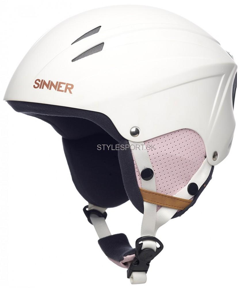 0ea1fd88d SINNER EMPIRE MATTE lyžiarska prilba, biela | Športové oblečenie a ...