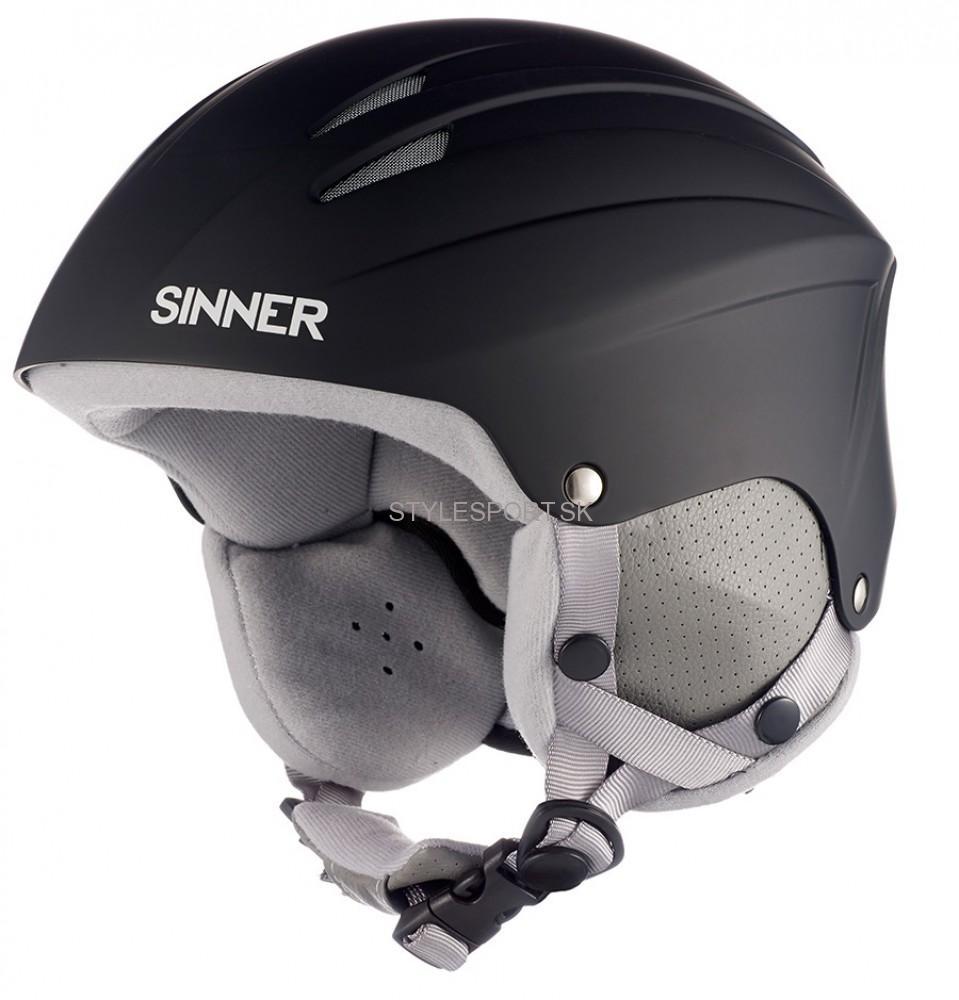 4d594fc33 SINNER EMPIRE MATTE lyžiarska prilba, čierna | Športové oblečenie a ...