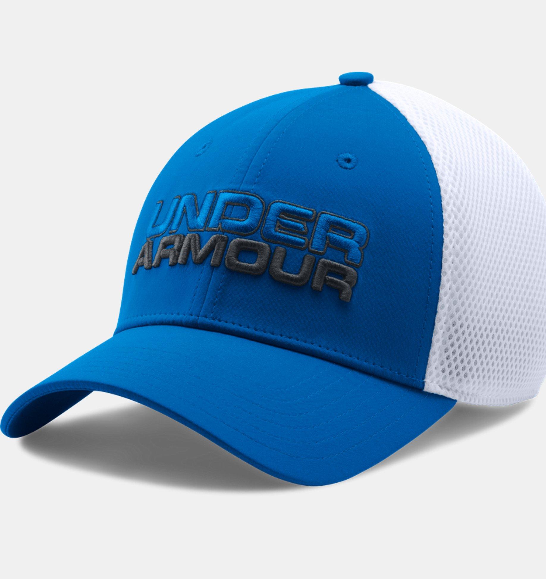 Under Armour Sportstyle Mesh Cap modrá biela  a7bc8cef0de