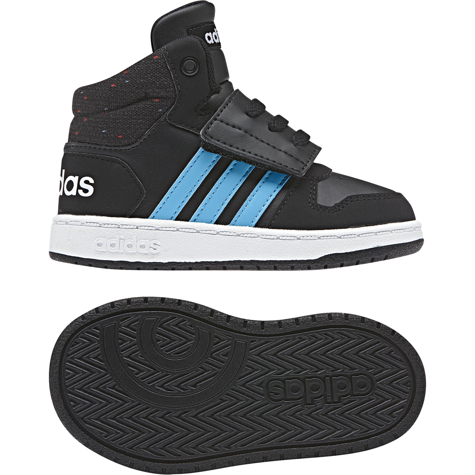 f4ddb2259d22c Tenisky adidas HOOPS MID 2.0 l, čierne | Športové oblečenie a ...