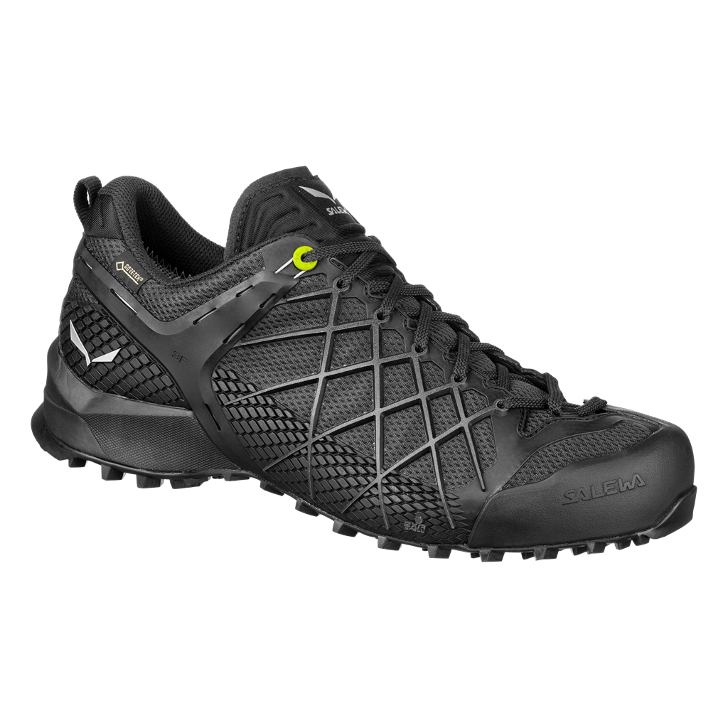 SALEWA MS WILDFIRE GTX, Black Out/Silver