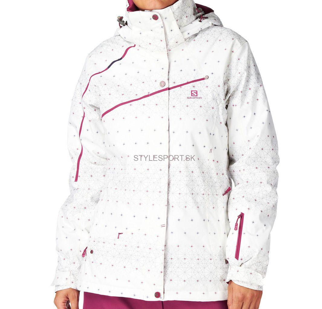 SALOMON Supernova Jacket W, white
