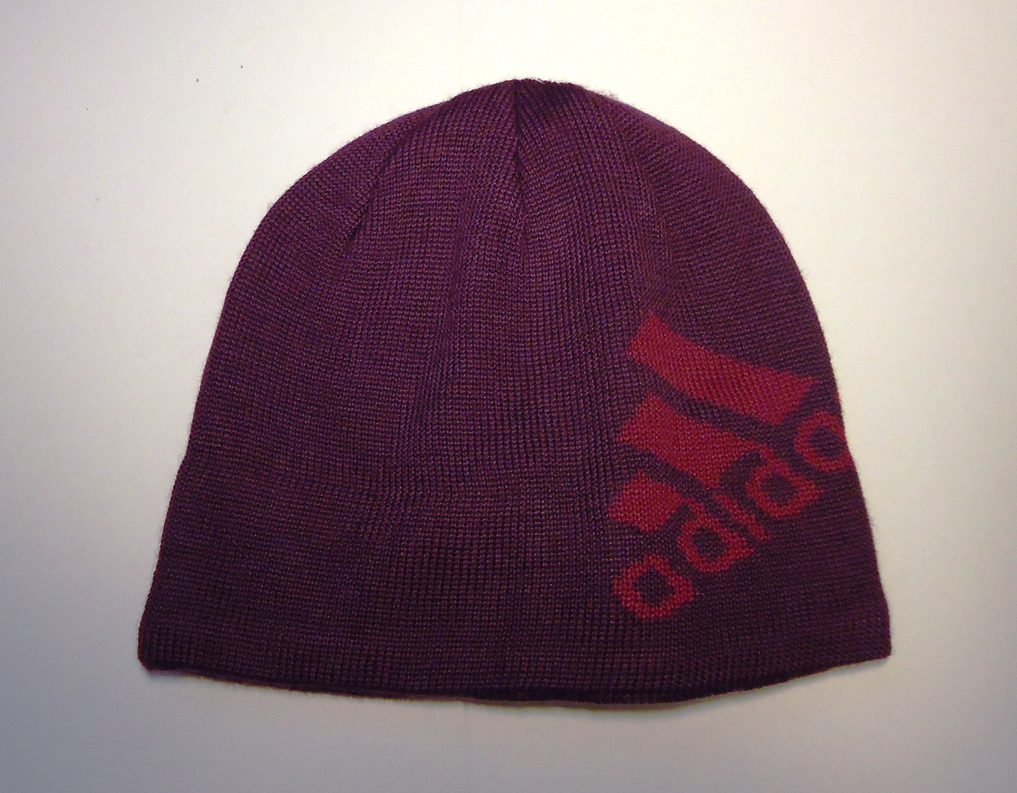 ADIDAS Knit Beanie, purple