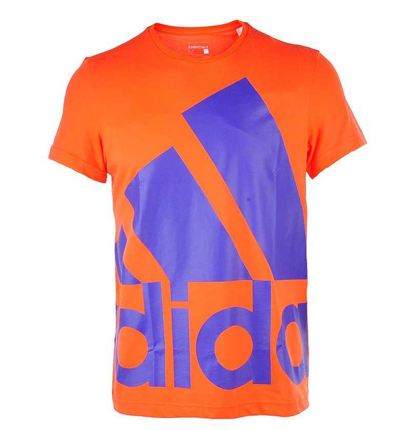 ADIDAS Logo Tee Big, orange