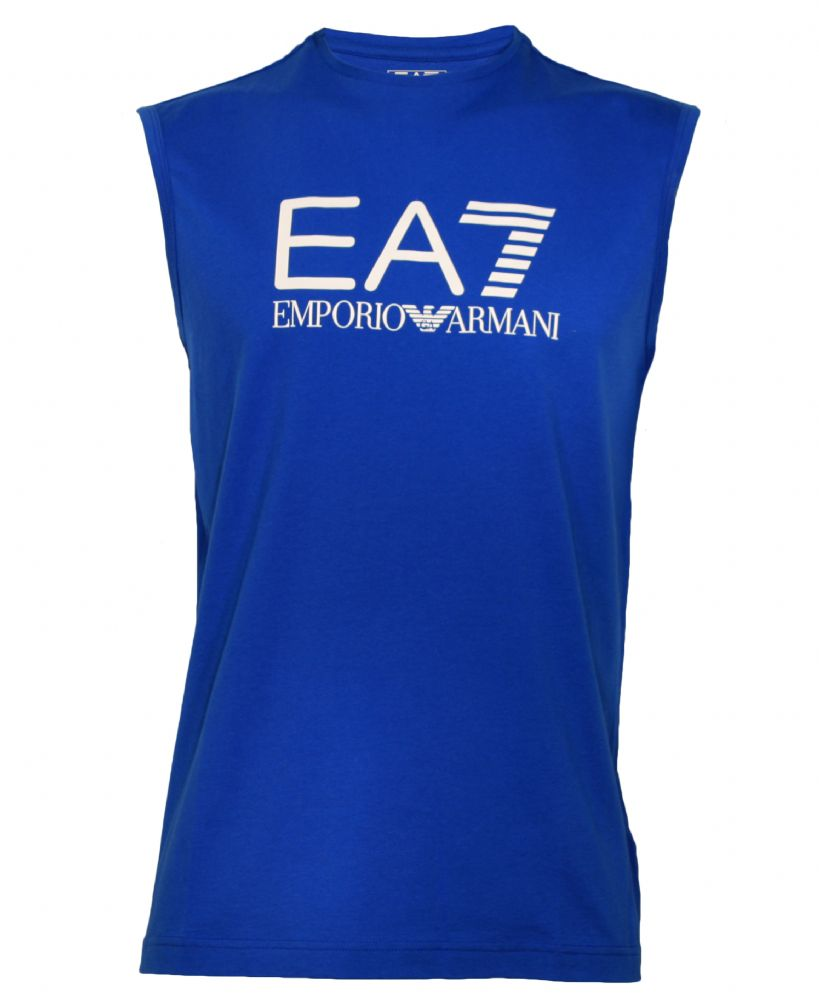 EMPORIO ARMANI Train Big Logo M Tee T-shirt, blue