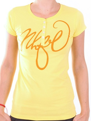 NorthFinder MALLE T-shirt TR-4036SII, yellow