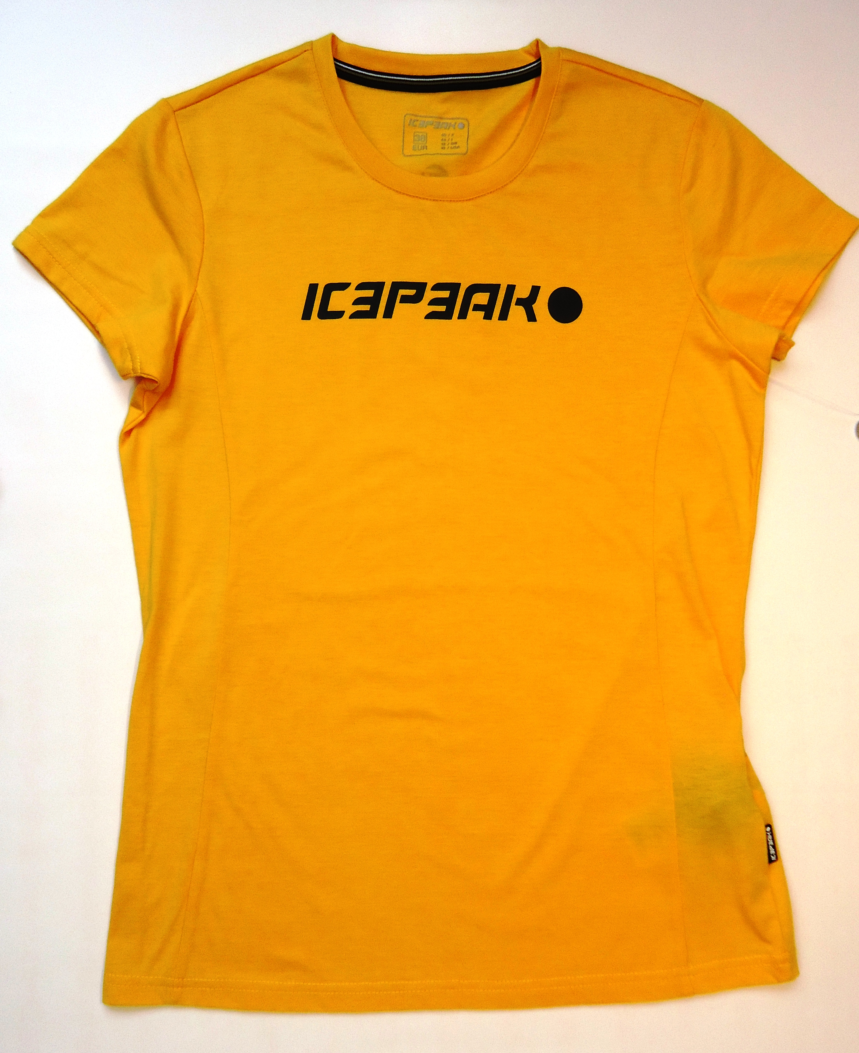 ICEPEAK STAR T-shirt, yellow