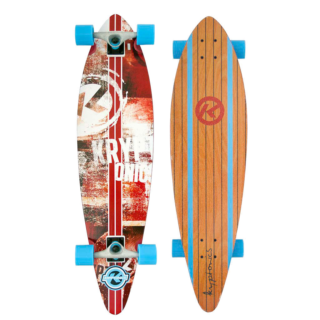 "KRYPTONICS SURFCITY 37"" LONGBOARD"