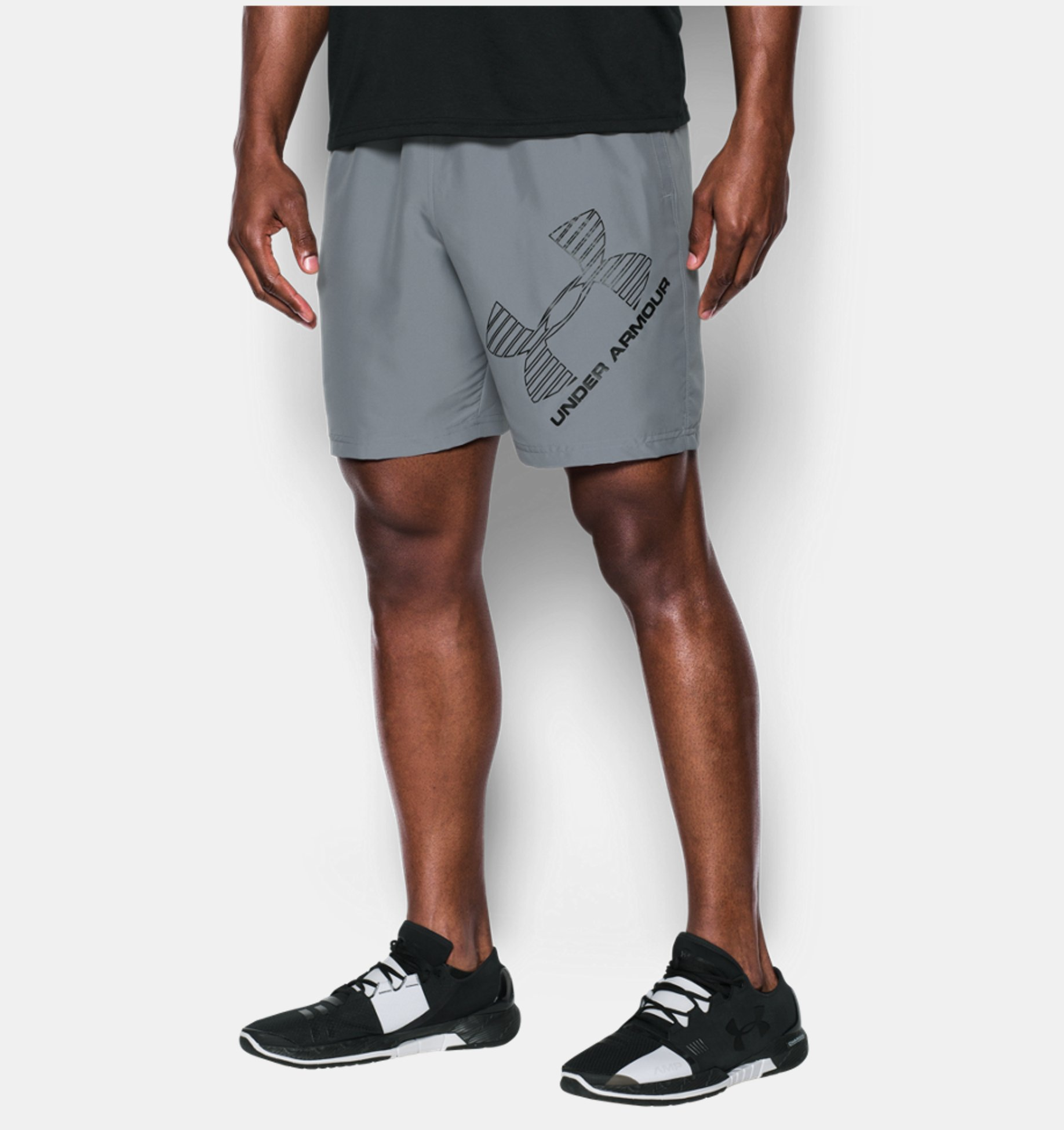 Kraťasy Under Armour Graphik Woven Shorts sivé