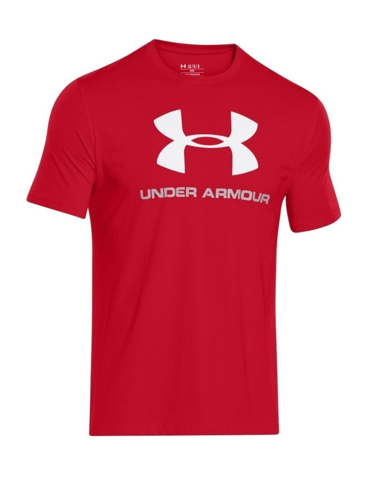 Under Armour CC Sportstyle Logo, červené