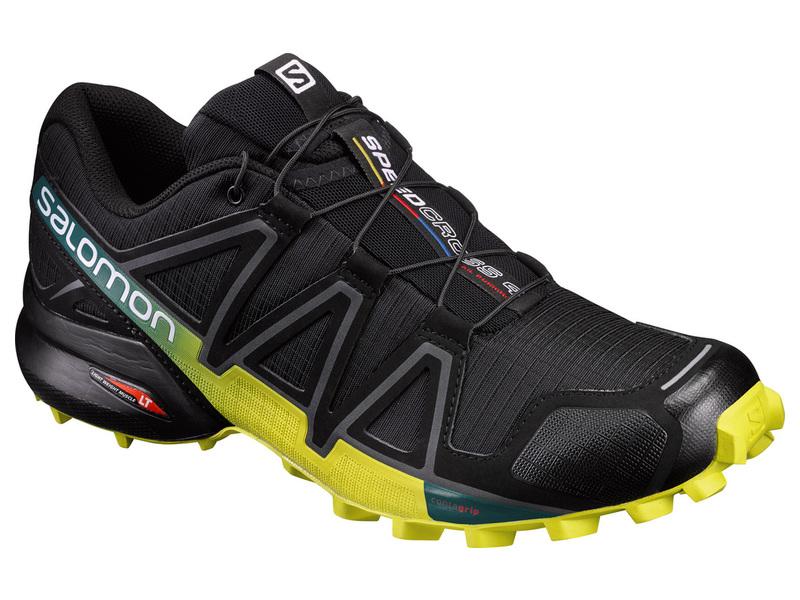 SALOMON SPEEDCROSS 4 BK/EVERGLADE/SULPHUR S