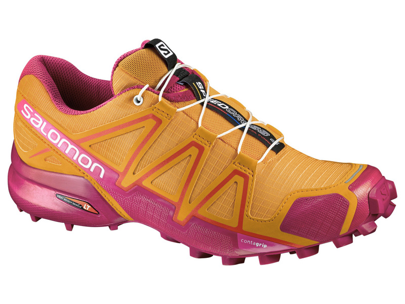 Obuv SALOMON SPEEDCROSS 4 W BRIGHT MAR/SANGRIA/R - 30%