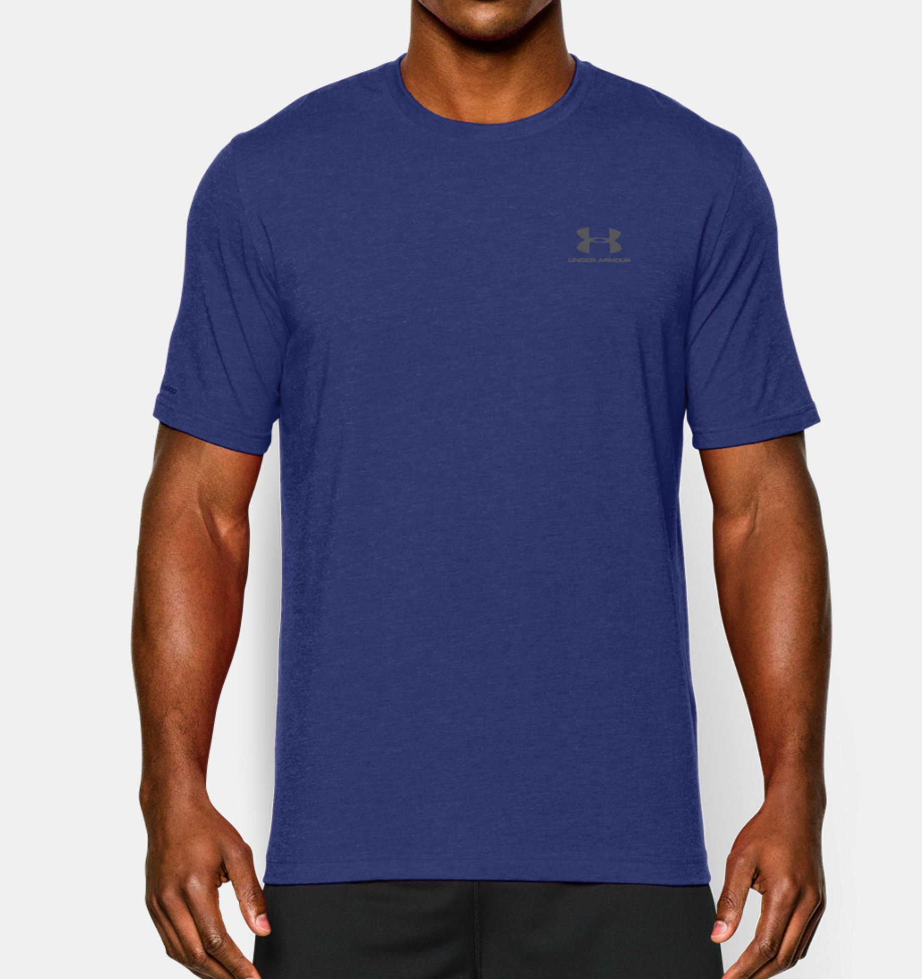 Under Armour CC Left Chest Lockup modré
