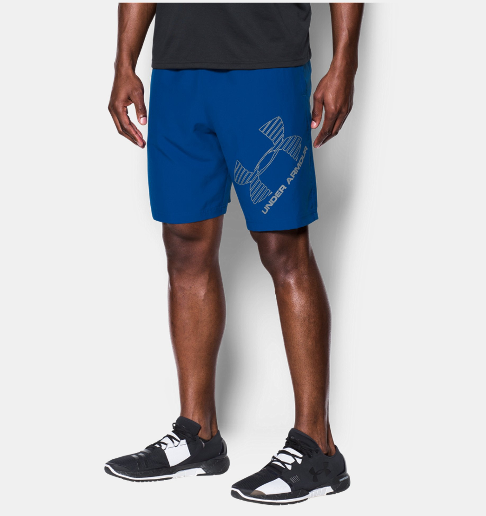 Kraťasy Under Armour Graphik Woven Shorts modré