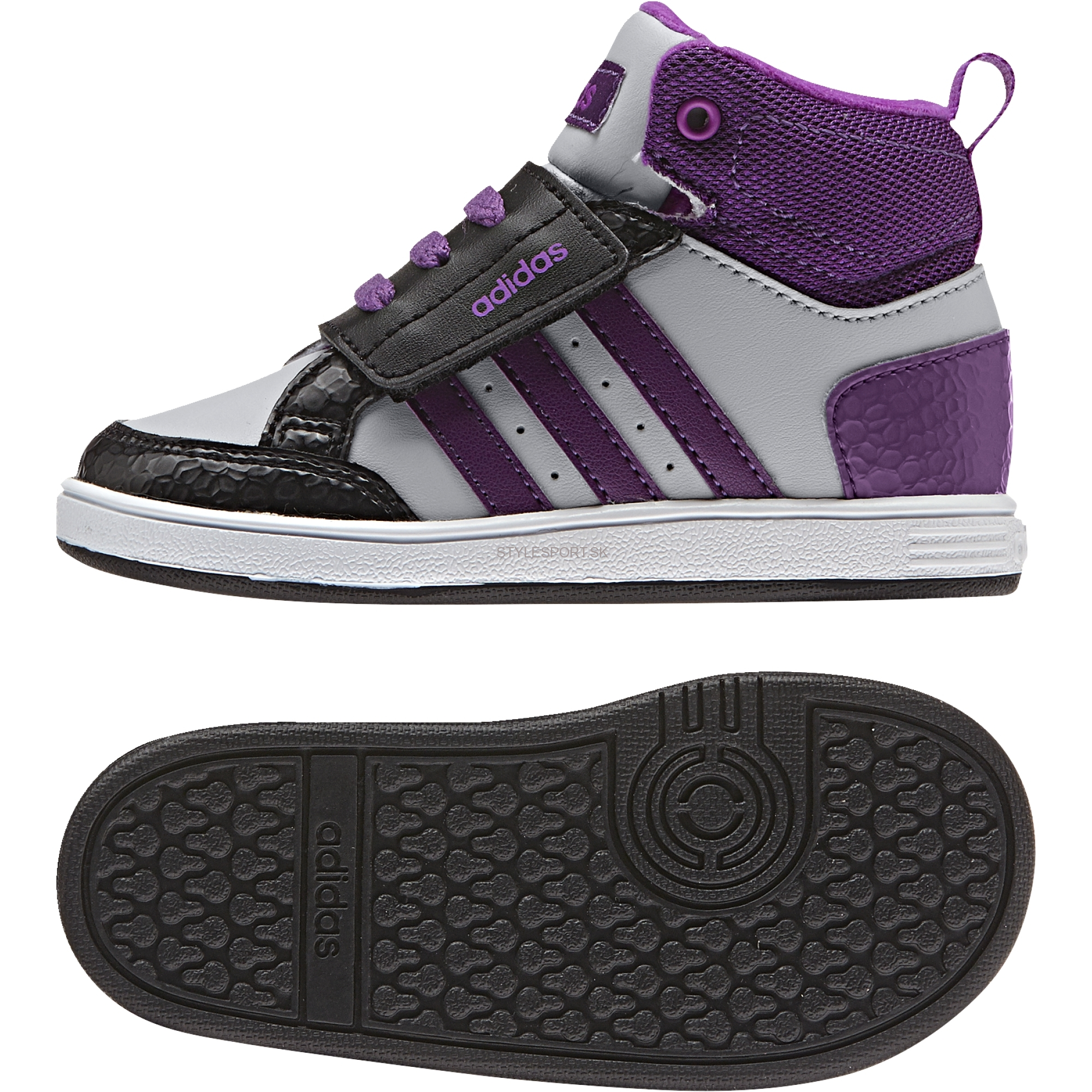 ADIDAS HOOPS CMF MID INF AW5125