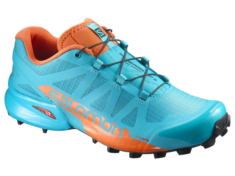 SALOMON SPEEDCROSS PRO 2 W - BLUE BIRD/SCARLET IBIS/BLACK -35%