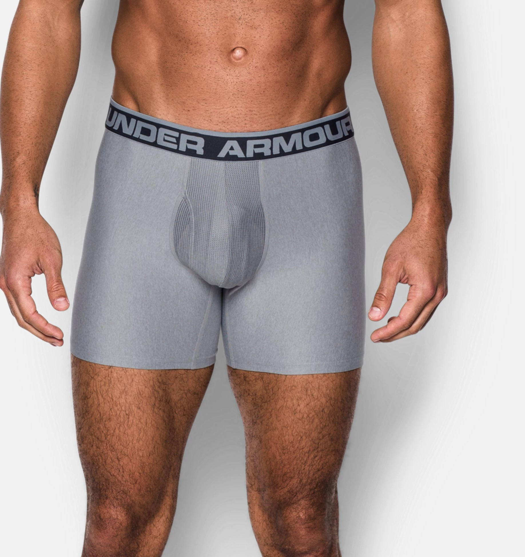 Under Armor boxerky Original, sivé