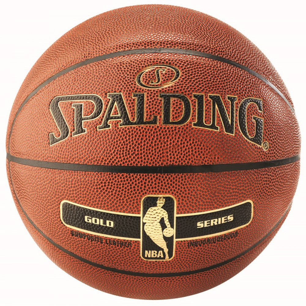 SPALDING NBA GOLD IN/OUT lopta