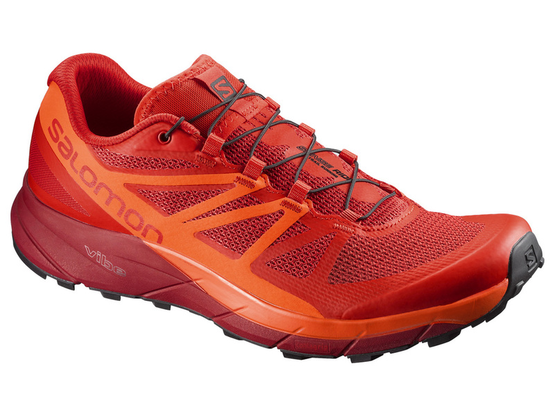 Salomon SENSE RIDE, FIERY RED
