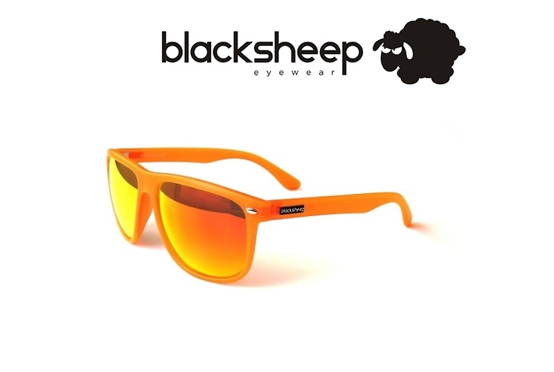 BLACKSHEEP COUNTER, neon orange
