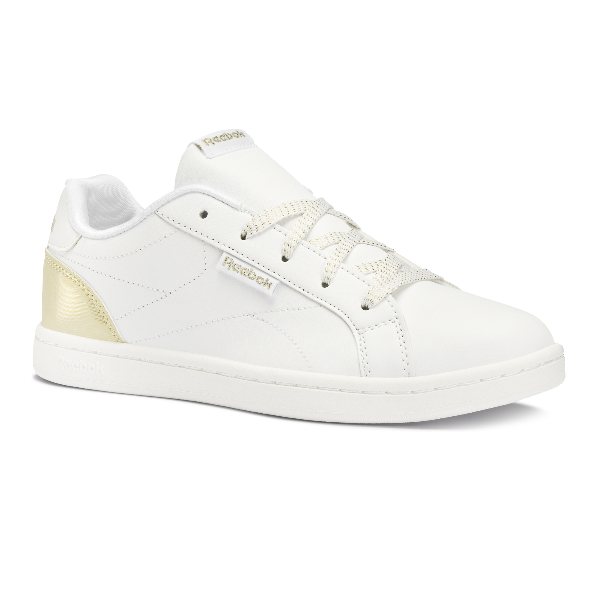 REEBOK ROYAL COMPLE WHITE/GOLD SPARKLE