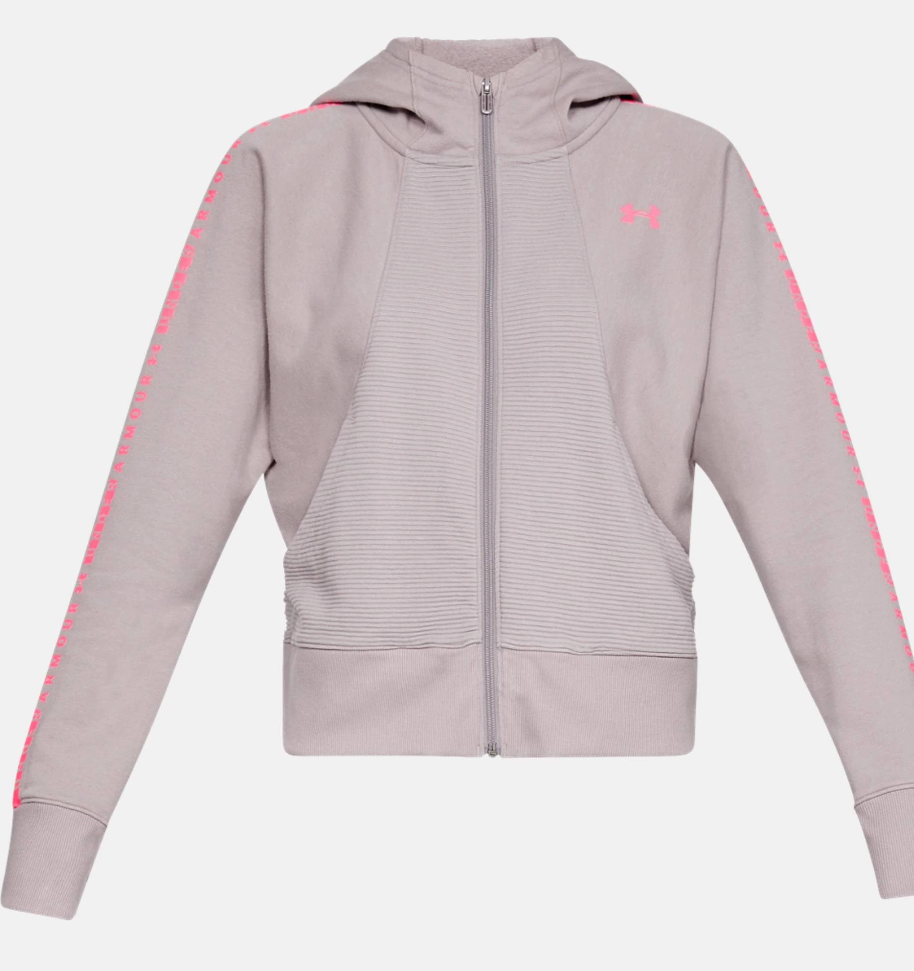 Under Armour OTTOMAN FLEECE GRAPHIC mikina, sivá