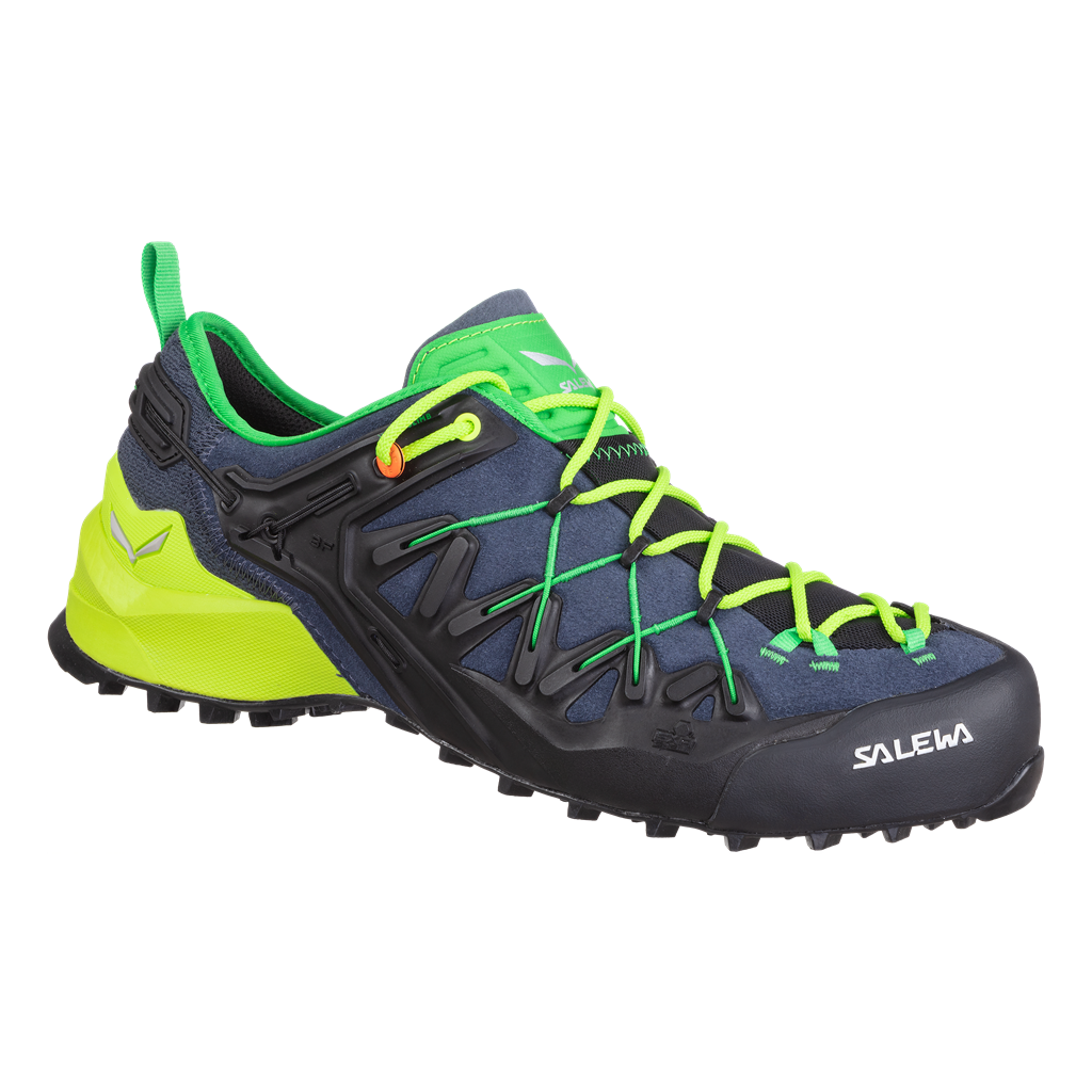 SALEWA MS WILDFIRE EDGE, Ombre Blue/Fluo Yellow