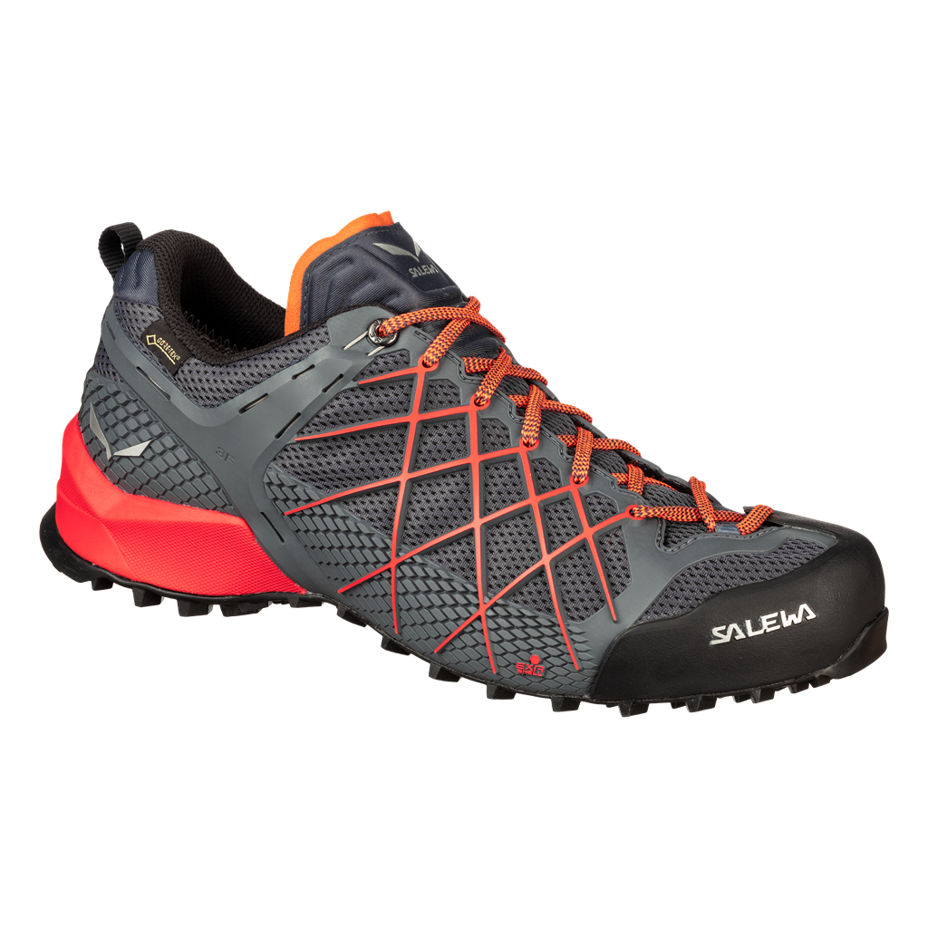 SALEWA MS WILDFIRE GTX, Ombre Blue/Fluo Orange