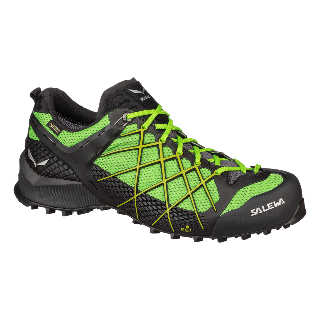 SALEWA MS WILDFIRE GTX, Black Out/Fluo Yellow