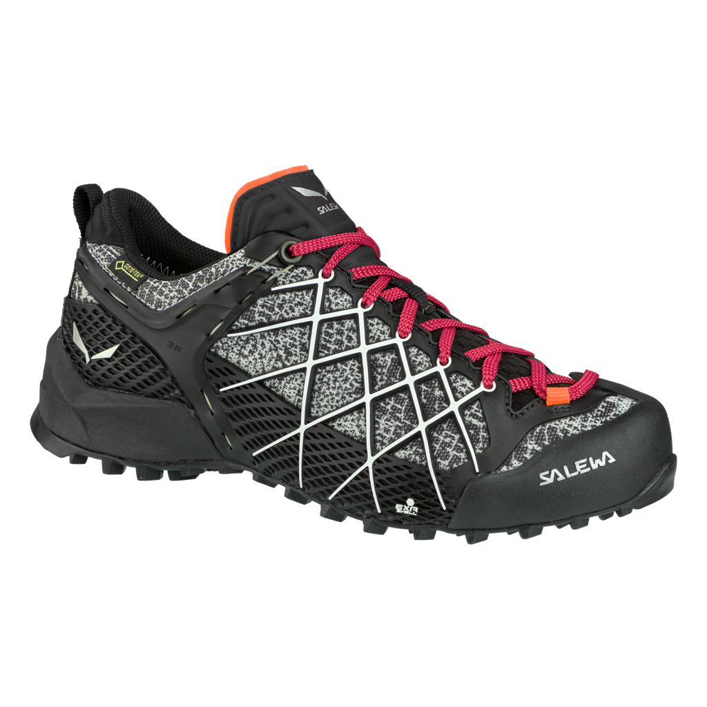 SALEWA WS WILDFIRE GTX, Black/White