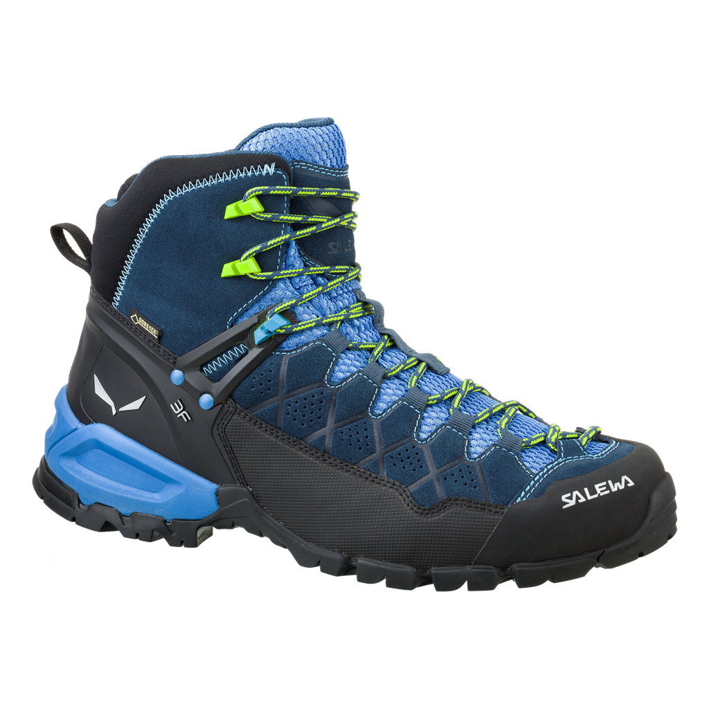 SALEWA MS ALP TRAINER MID GTX dark denim/cactus