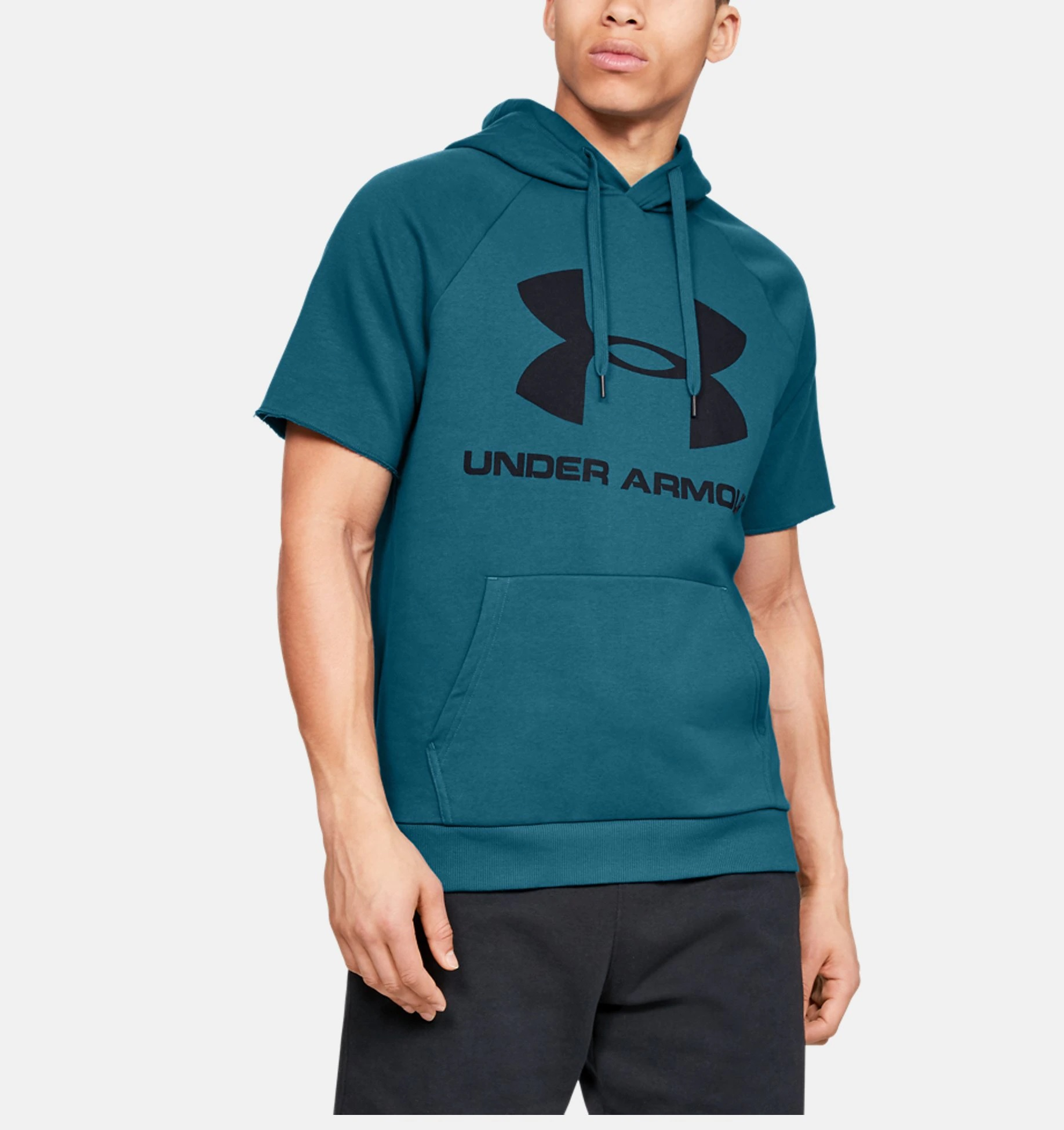 Under Armour Rival mikina_petrol