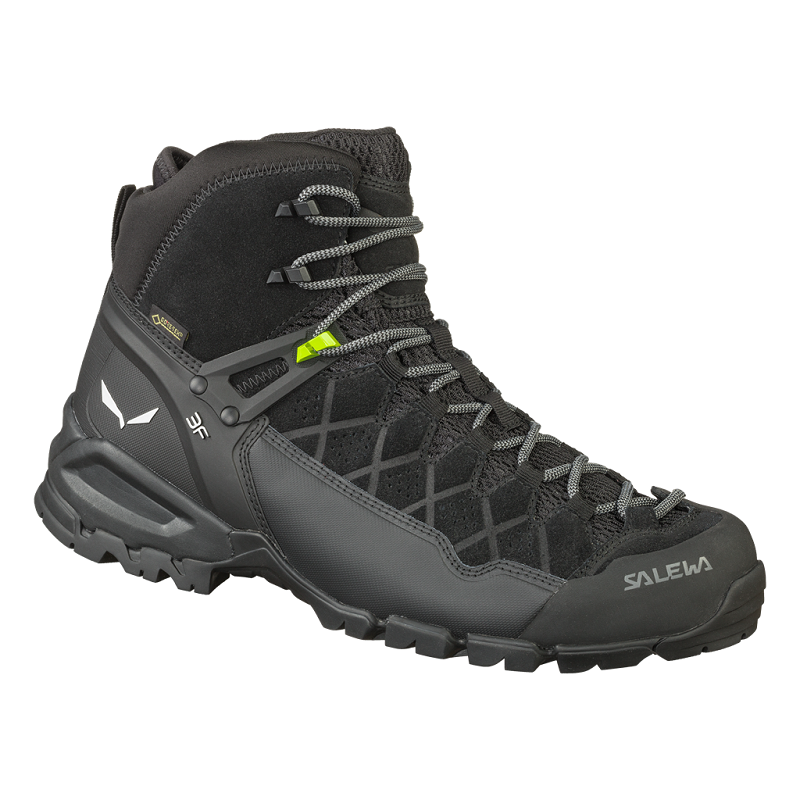 SALEWA MS ALP TRAINER MID GTX Ombre Black/Black