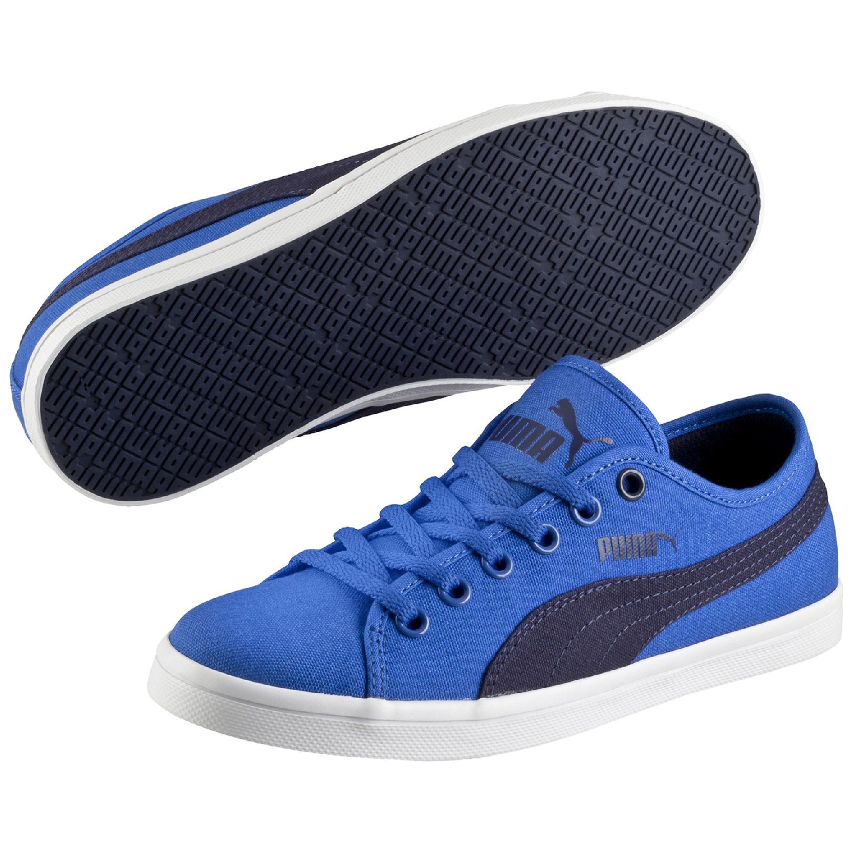 Puma ELSU F CANVAS JR, modré