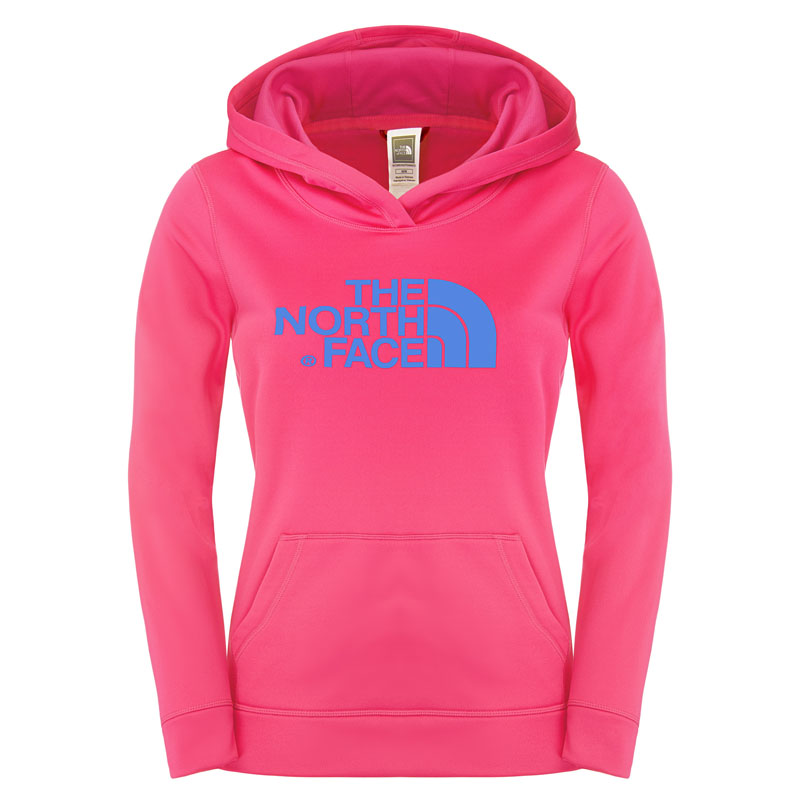 THE NORTH FACE w Sergent Hoodie, ružová