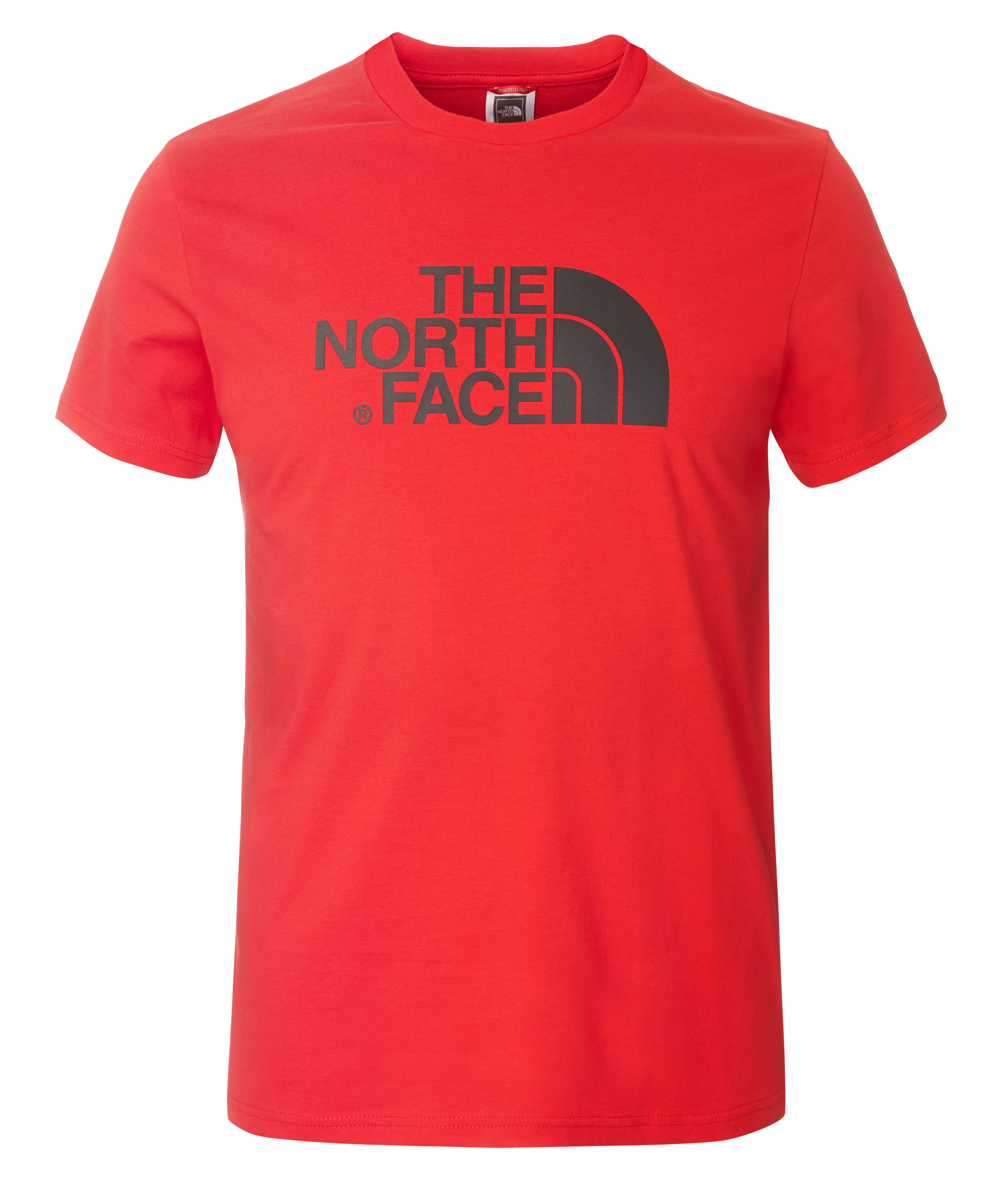 THE NORTH FACE m Easy Tee, Red