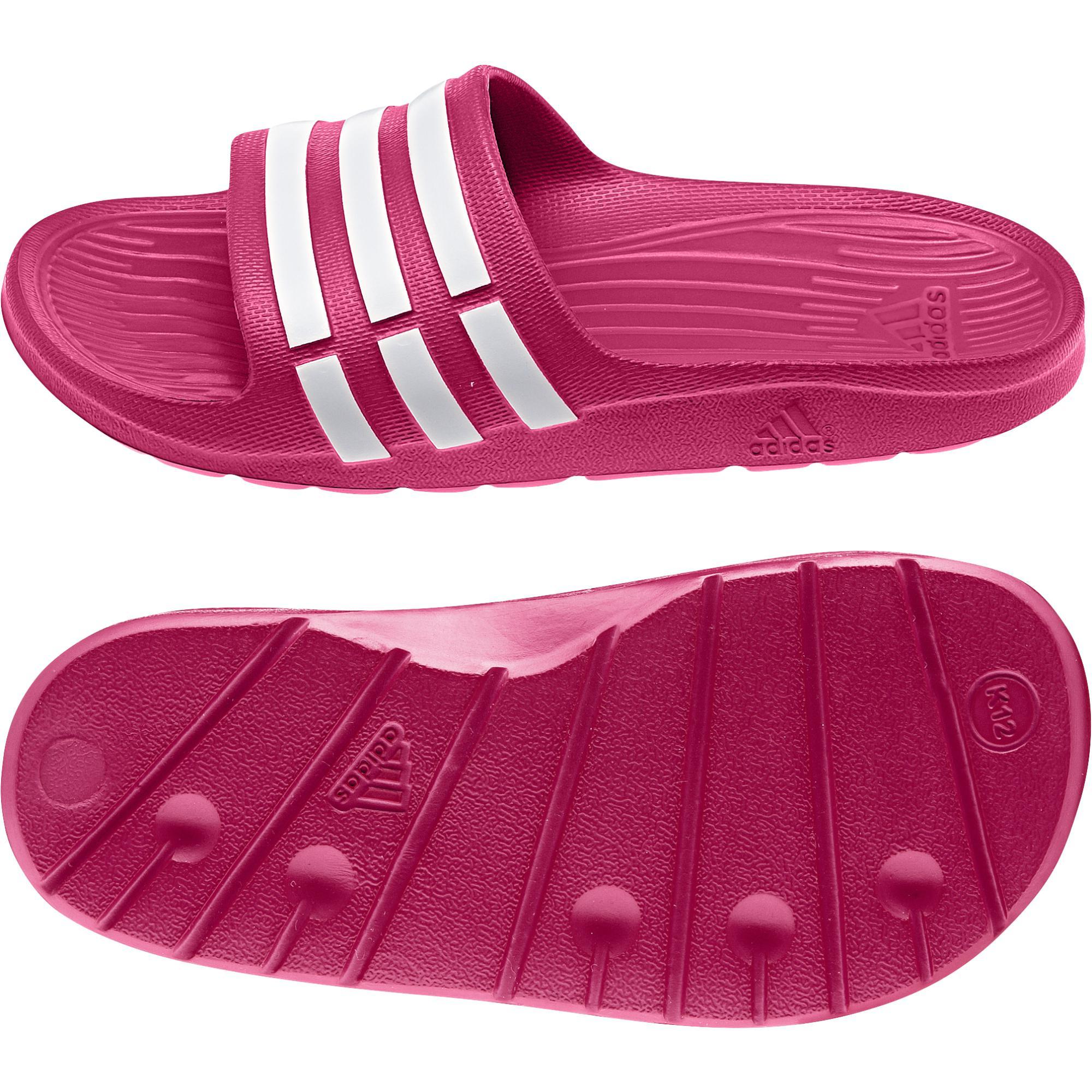 Adidas DURAMO SLIDE K ružové  aafcd1eb6b