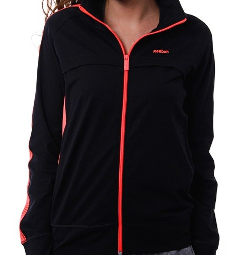 REEBOK AB Knit Jkt, black