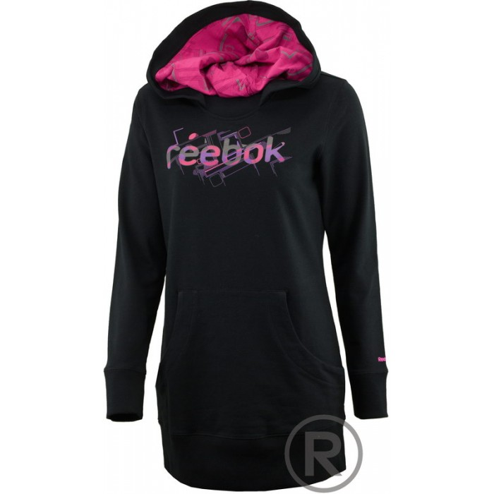 REEBOK SG Hoody Dress, black