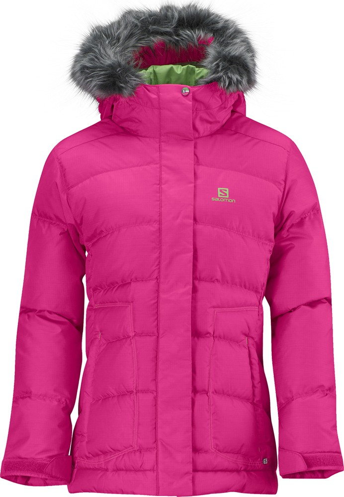 SALOMON Electra Jr Jacket, pink