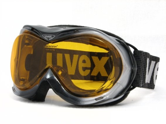 UVEX hurricane optic, silver/black