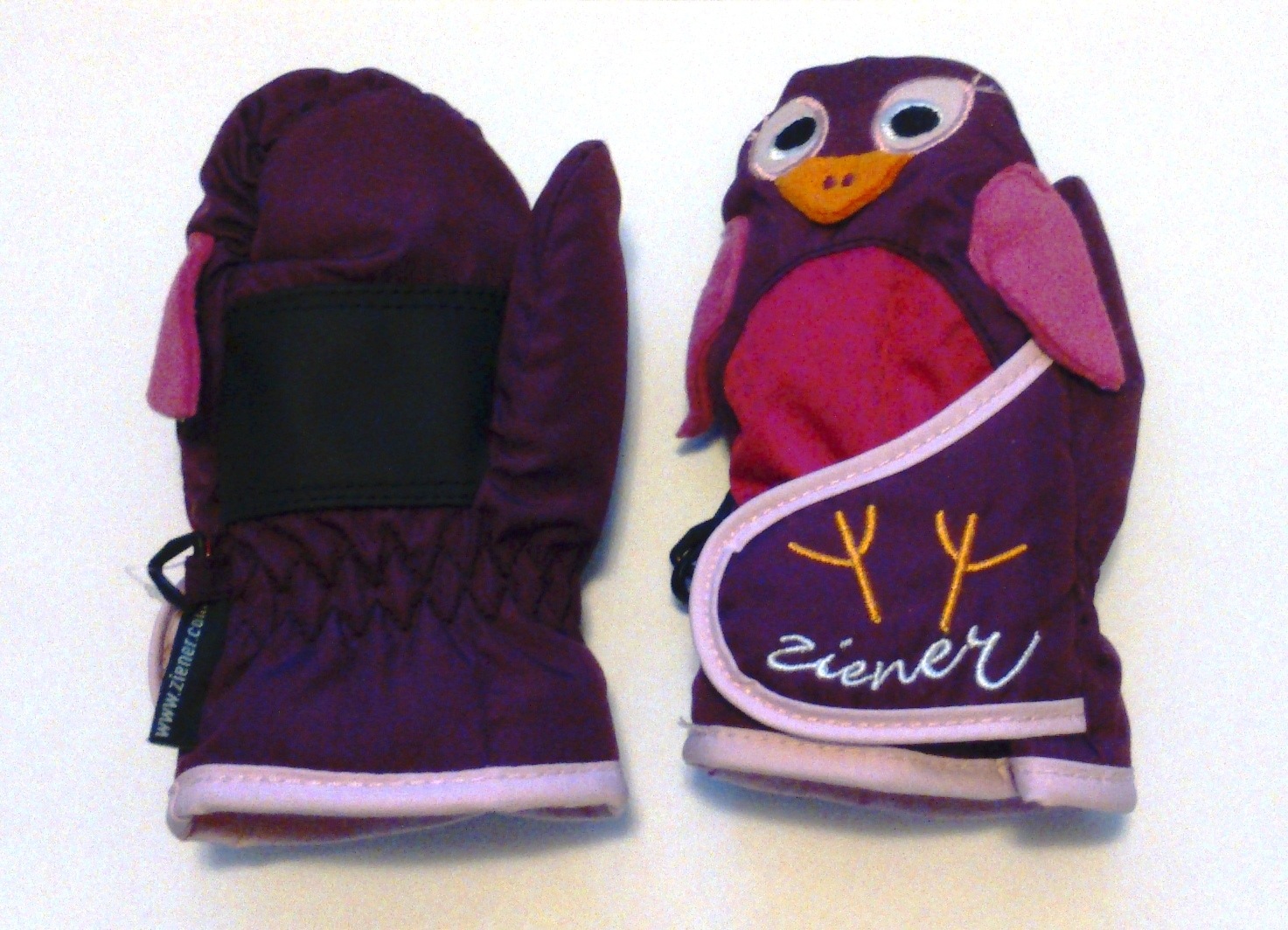 ZIENER Lanimal minis gloves, purple