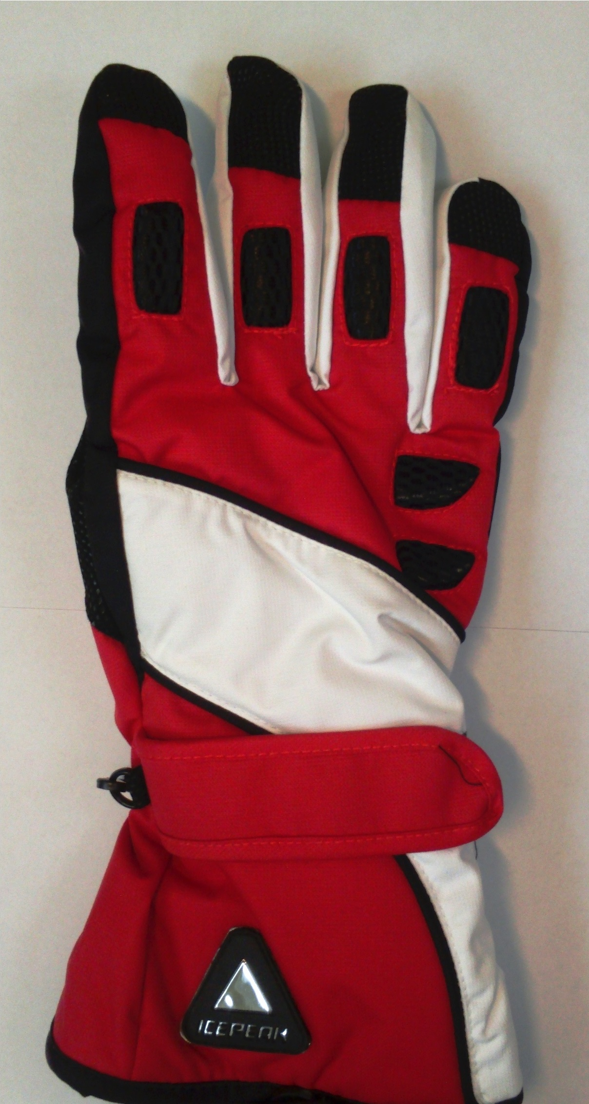 ICEPEAK TUA glove, red