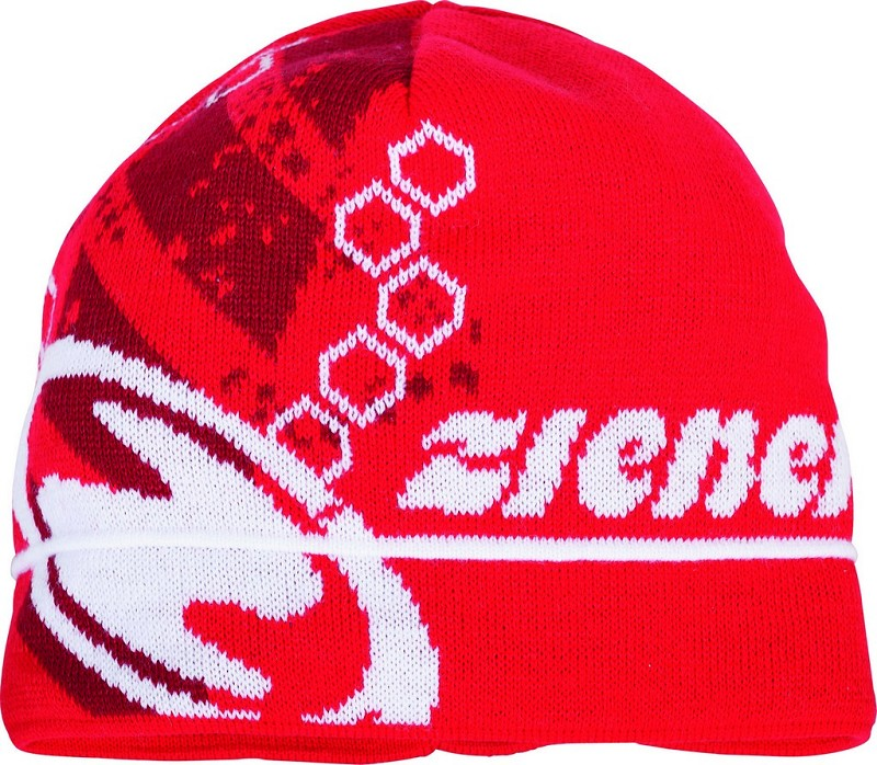 ZIENER Tidegar hat, red