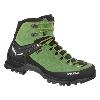 SALEWA MS MTN TRAINER MID GTX, Myrtle/Fluo Green