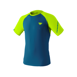 DYNAFIT ALPINE PRO MEN TEE_fluo yellow
